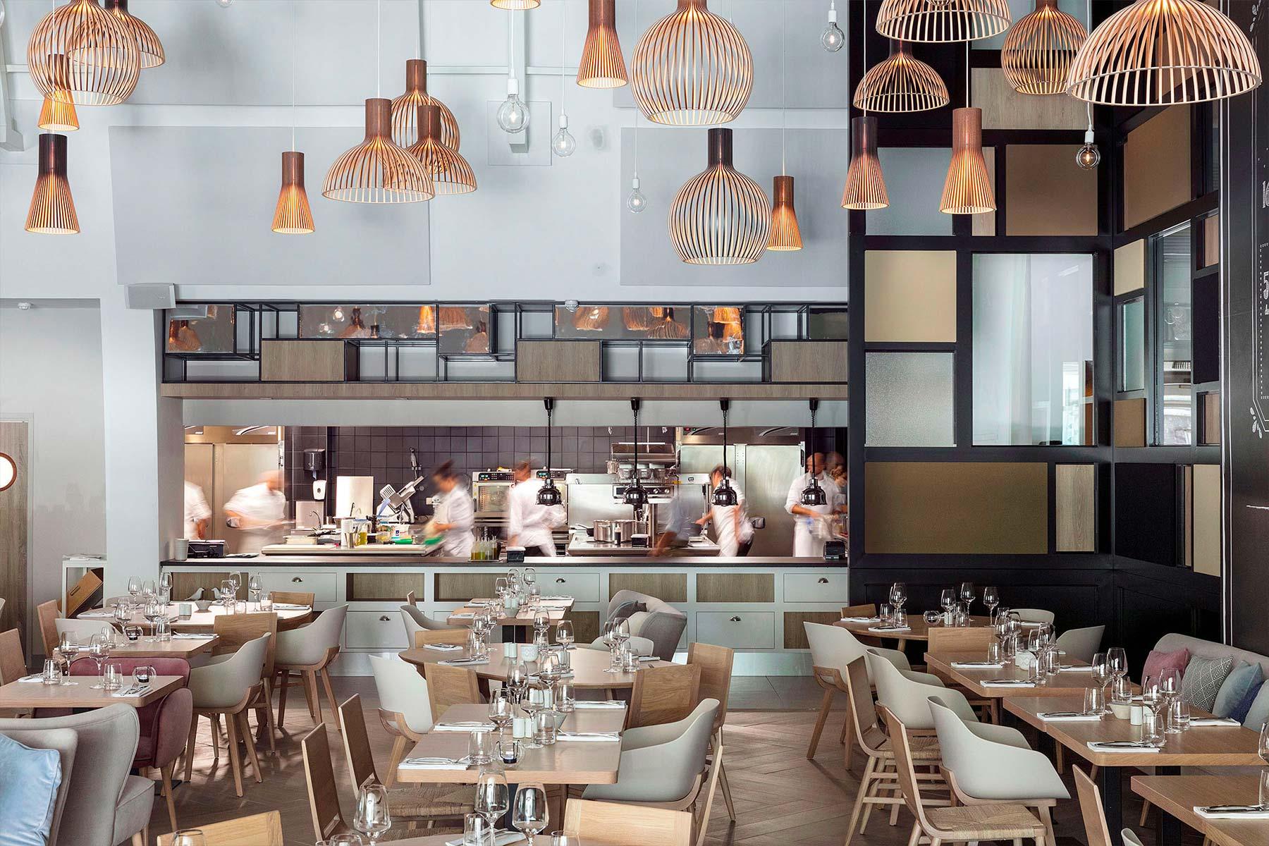 Babette Concept Store - Restaurant - Salle et Cuisine - Hôtel Restaurant Bordeaux