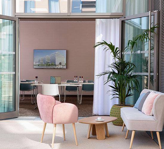 Hilton Garden Inn Bordeaux Centre - Salle Graves - Terrasse