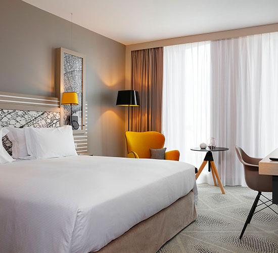 Hilton Garden Inn Bordeaux Centre - Chambre Deluxe - Chambre hôtel Bordeaux
