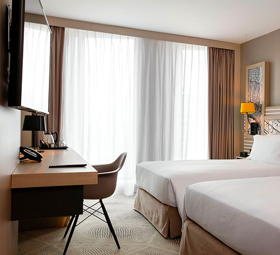 Hilton Garden Inn Bordeaux Centre - Chambre supérieure - Hôtel proche gare Bordeaux