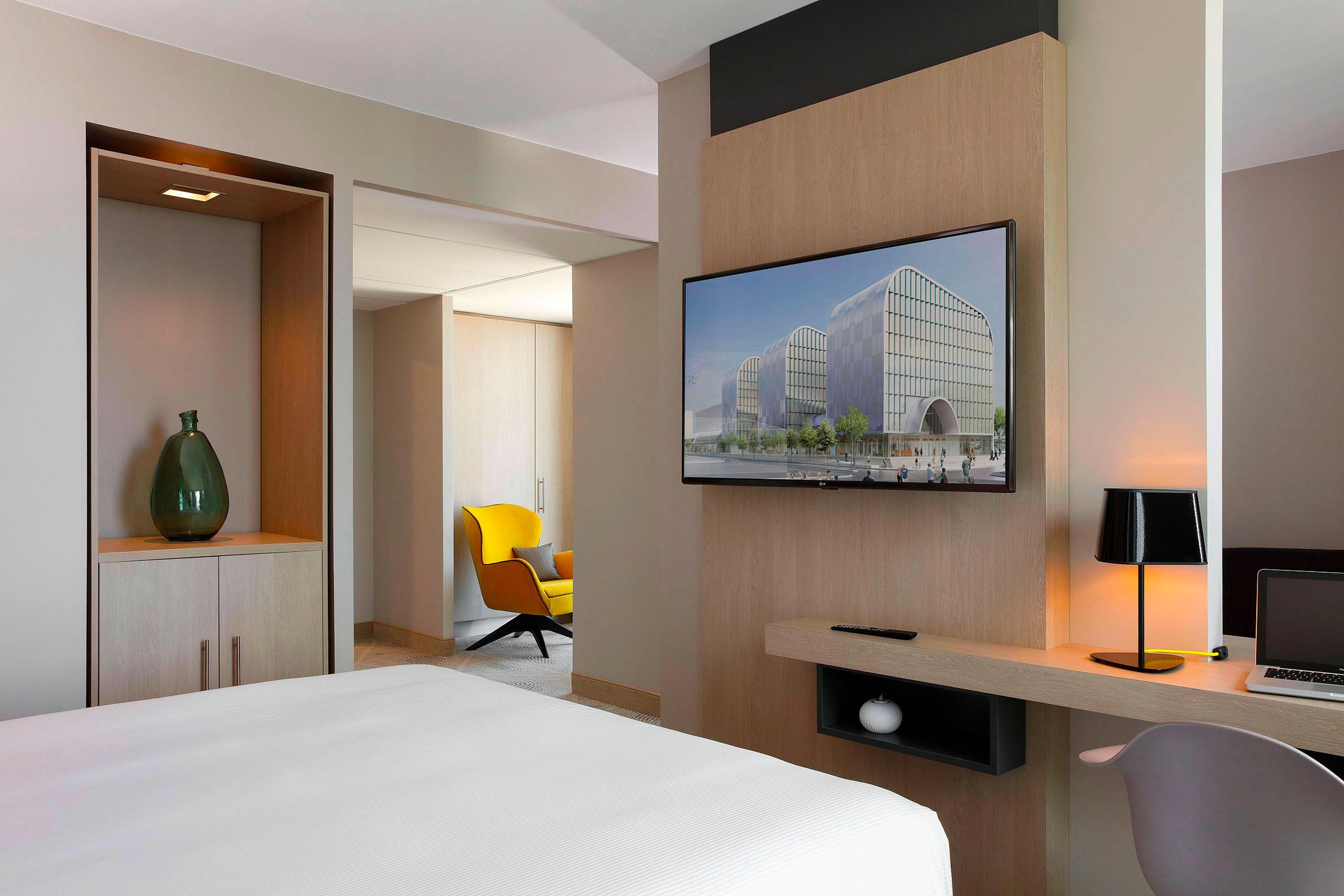 Hilton Garden Inn Bordeaux Centre - Suite Junior - Hôtel 4 étoiles Bordeaux - Vue Ensemble